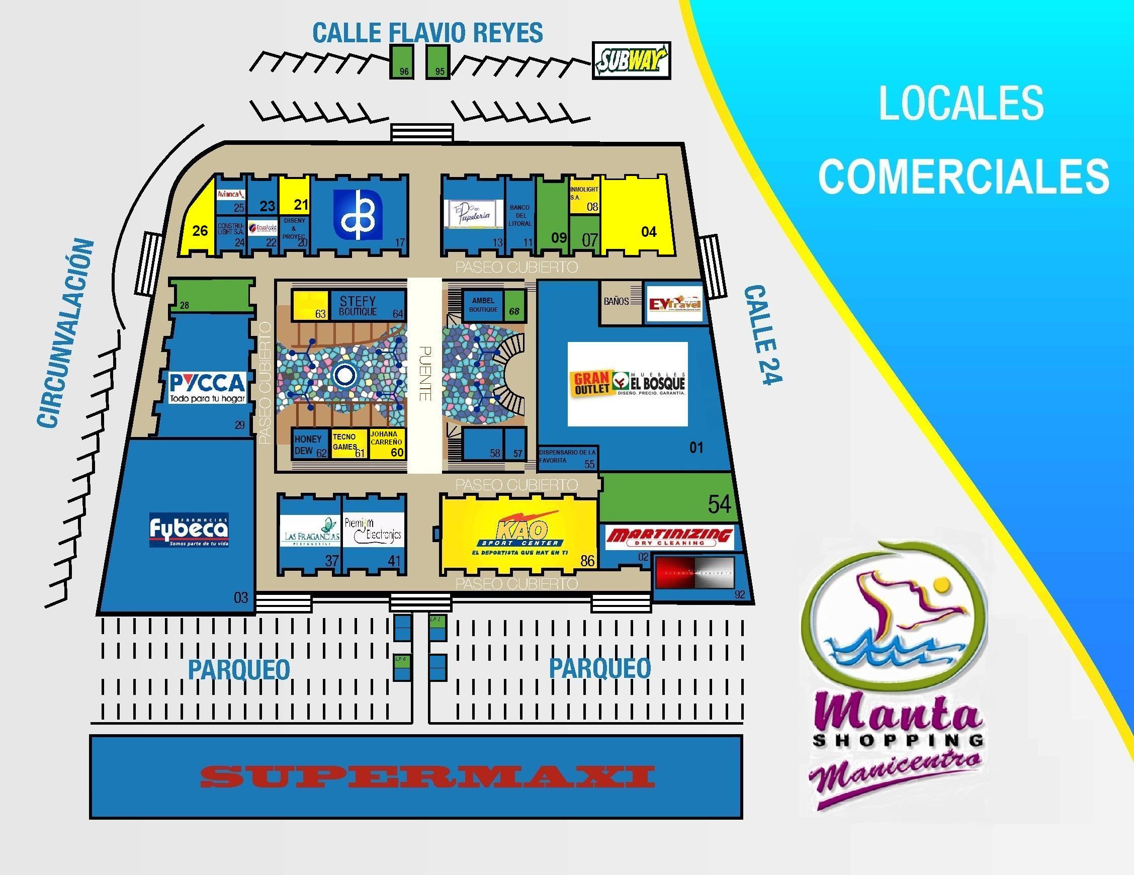 MANICENTRO, Manta Shopping