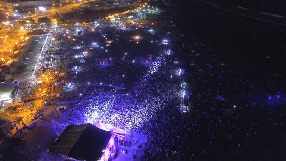 70.000 asistentes aproximadamente